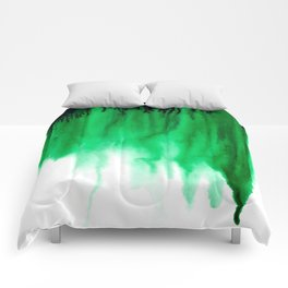 Emerald Bleed Comforters