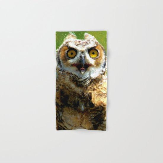 Twinkle twinkle little owl Hand & Bath Towel
