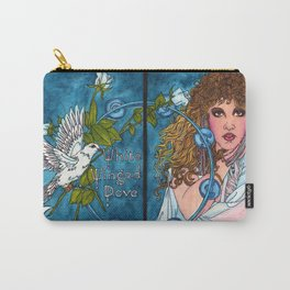 White Winged Dove Carry-All Pouch