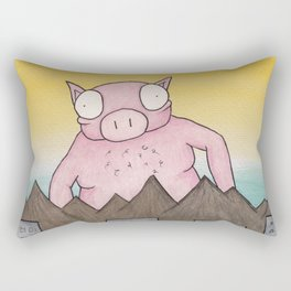 Mr. Pig Rectangular Pillow