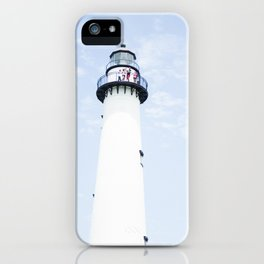Saint Simons Lighthouse iPhone Case