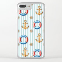 sea day Clear iPhone Case