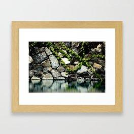 Reflection Rock Framed Art Print
