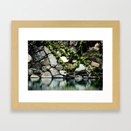 Reflection Rock Framed Art Print