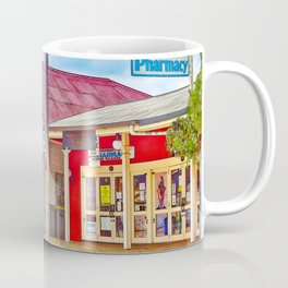 Welcoming village shop Coffee Mug