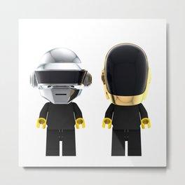 Daft Punk - Lego Metal Print
