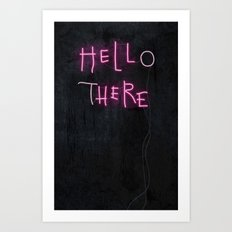 Hell Here Art Print