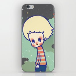 displaced person iPhone Skin