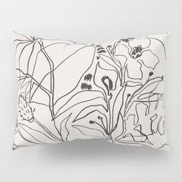 Charcoal Tropics Pillow Sham