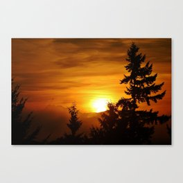Bellevue Washington Sunrise Canvas Print