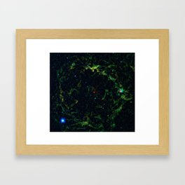 Orion And The Large Sun Betelgeuse Print Framed Art Print