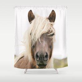 Horse V2 Shower Curtain