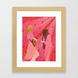 rebel heart // first aid kit Framed Art Print