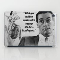 mad men iPad Cases featuring Mad Men by Magdalena Almero