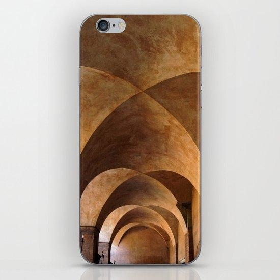Symmetrical ceiling in Rome. iPhone & iPod Skin
