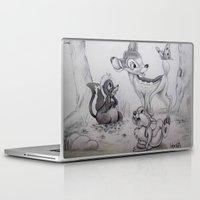 bambi Laptop & iPad Skins featuring Bambi by Lynsie Petig