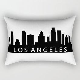 Los Angeles skyline Rectangular Pillow