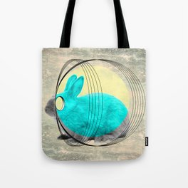 hypnotic rabbit Tote Bag
