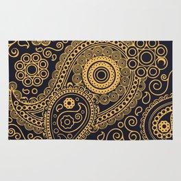 Vintage Pattern Gold Rug