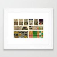 nasa Framed Art Prints featuring Mission Control, NASA. by Pamela Steiner