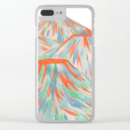 Volcanic Landscape Clear iPhone Case