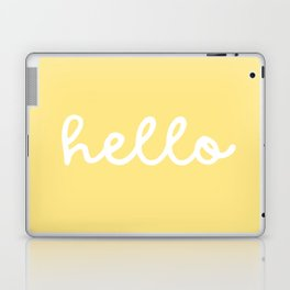 HELLO YELLOW Laptop & iPad Skin