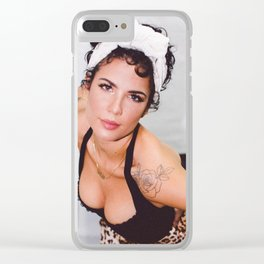 Halsey 58 Clear iPhone Case