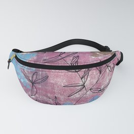 olive branches: botanical study Fanny Pack