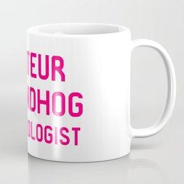 Amateur Groundhog Meteorologist Coffee Mug