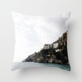 AMALFI COAST Throw Pillow