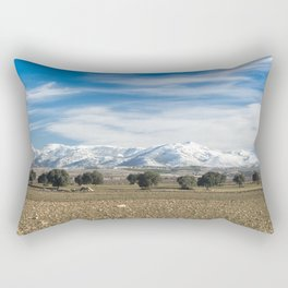 Andalusian landscape Rectangular Pillow
