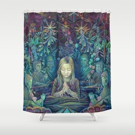 I Know That Language Shower Curtain