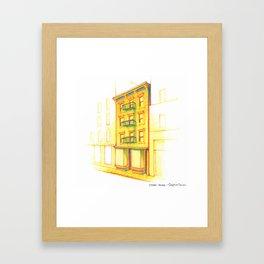 NYC Pride: STAR House Framed Art Print