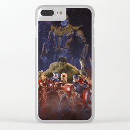 all good and bad Clear iPhone Case