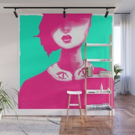 Contemporary Collar Wall Mural