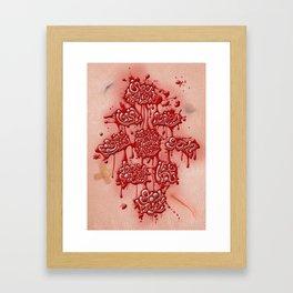 Last Words Framed Art Print