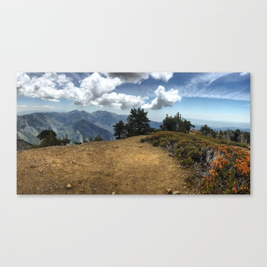Summit Panorama Canvas Print