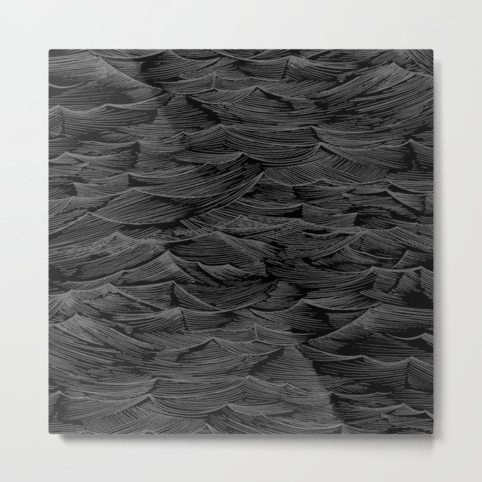 Abstract Waves.... Metal Print