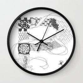 """Zenletter """"P"""" Wall Clock"""