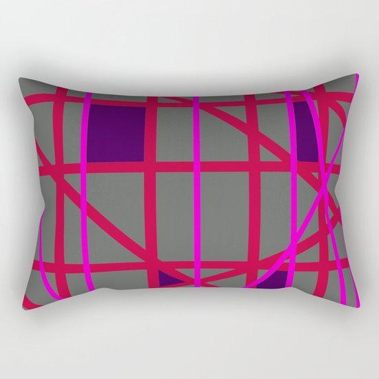 Abstract RF Rectangular Pillow
