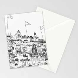 the churchill arms Stationery Cards