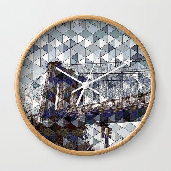 bridge of dreams Wall Clock
