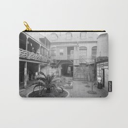 Old French courtyard, New Orleans Carry-All Pouch