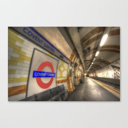 Covent Garden Tube station Canvas Print