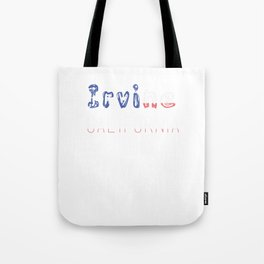 Irvine California Tote Bag