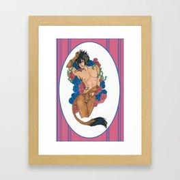 A Beauty and a Beast Framed Art Print