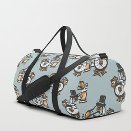 Dodo with beer Duffle Bag
