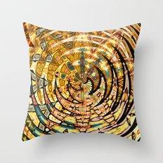 Bohemian Mystic Starflower Candyworks Pattern Throw Pillow