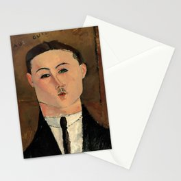 """Amedeo Modigliani """"Paul Guillaume"""" Stationery Cards"""