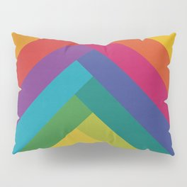 Bright Summer Lines Pillow Sham